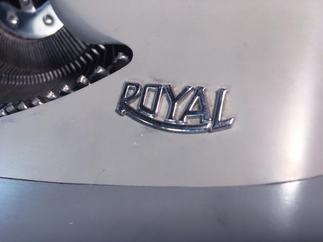 "Royal ""Royalite"" logo on the front..."