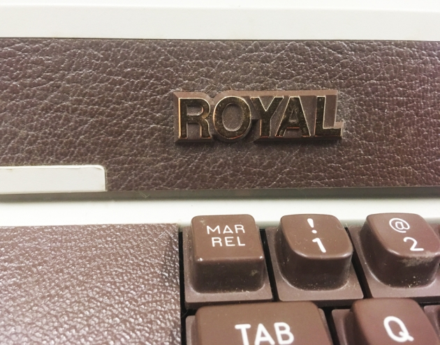 """Royal """"Academy"""" manufacture logo from the front..."""