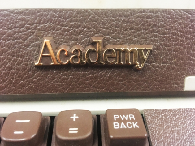 """Royal """"Academy"""" model logo from the front..."""