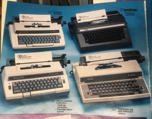 1984-85 Service Merchandise Catalog page 390.