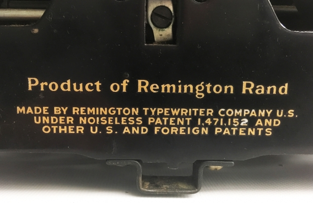 Remington Model 7 from the back, detail ...