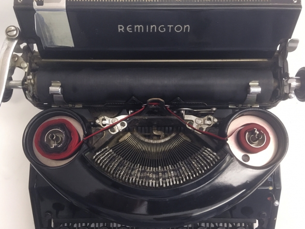 Remington Model 7 from under the hood ...