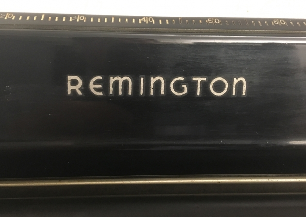 Remington Model 7 from under the hood, detail ...
