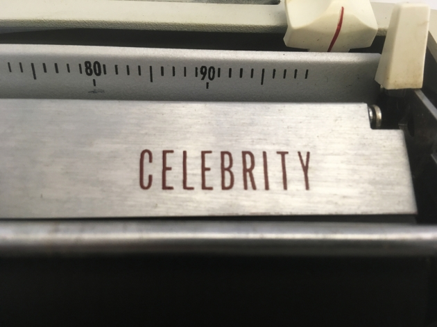 "Sears ""Celebrity"" from the top (logo detail)..."