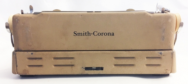 "Smith-Corona ""Silent Super"" from the back..."