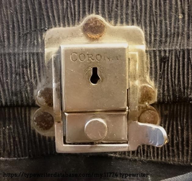 Corona case, Corona lock, obviously.