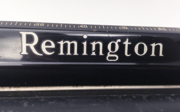 "Remington ""Model 1"" from the top, logo..."