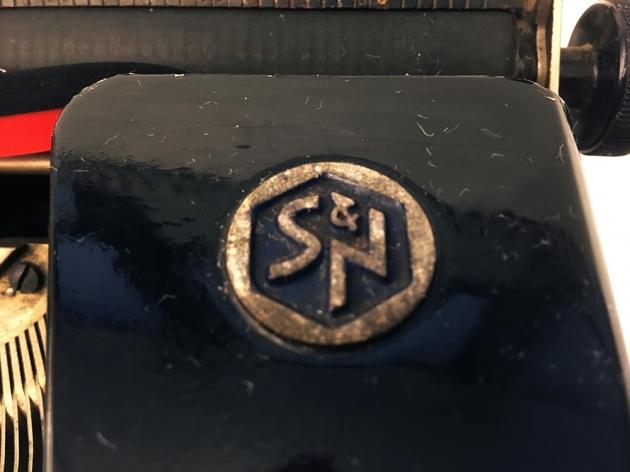Seidel & Naumann Erika Modell S logo on the top...