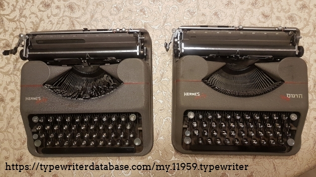 Siblings: QWERTZ (1945) and Hebrew (1949)