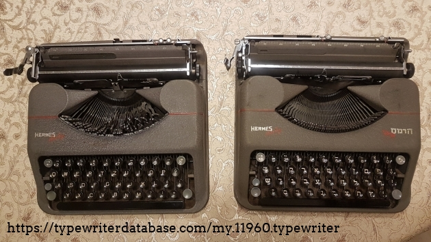 """With its older QWERTZ 1945 """"sibling""""."""