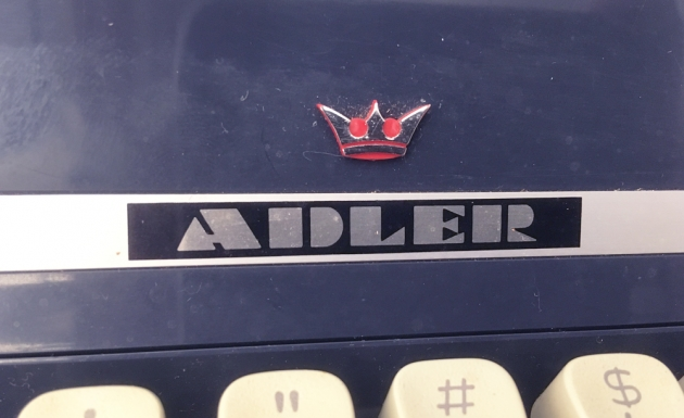"Adler ""J5"" logo on the top..."
