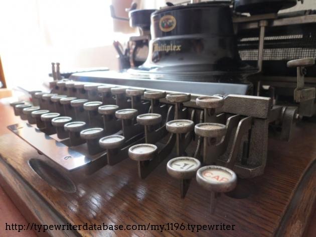 General view of keyboard.