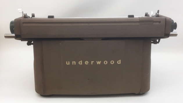 """Underwood """"SX"""" from the back..."""