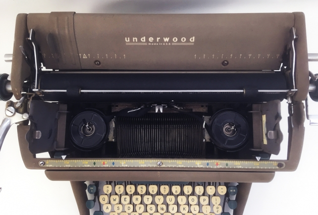 """Underwood """"SX"""" from under the hood.."""