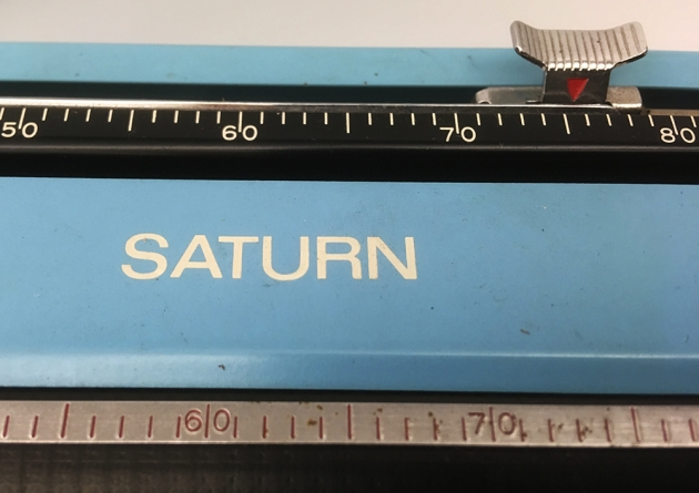 "Royal ""Saturn"" (SP-8 000) from the top (model logo)..."