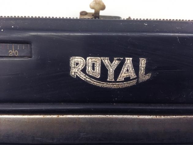 "Royal ""KHM"" logo on the top..."