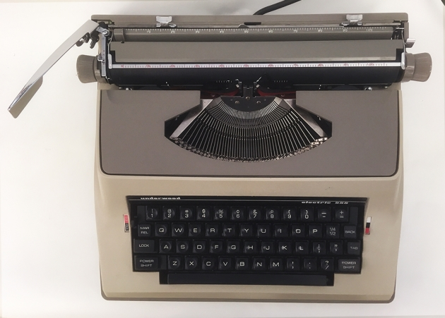 "Underwood ""Electric 555"" from the top..."