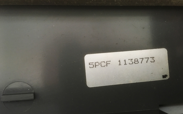 "Smith-Corona ""SD 700""  serial number location..."