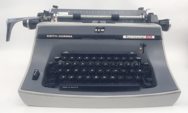 "Smith Corona ""Secretarial 76"" from the front..."