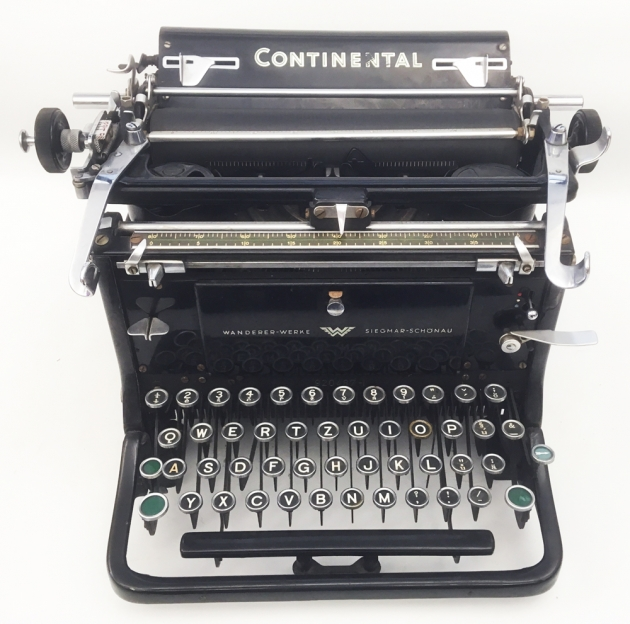 """Continental """"Standard (A?)"""" from the front..."""