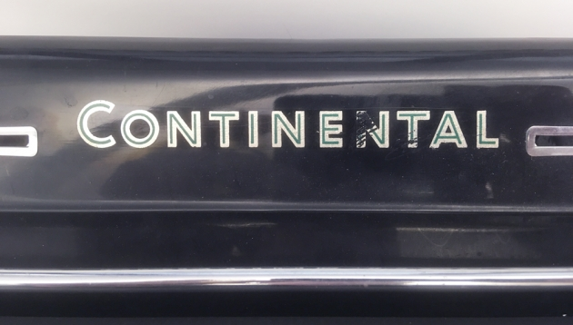"""Continental """"Standard (A?)"""" from the front logo..."""
