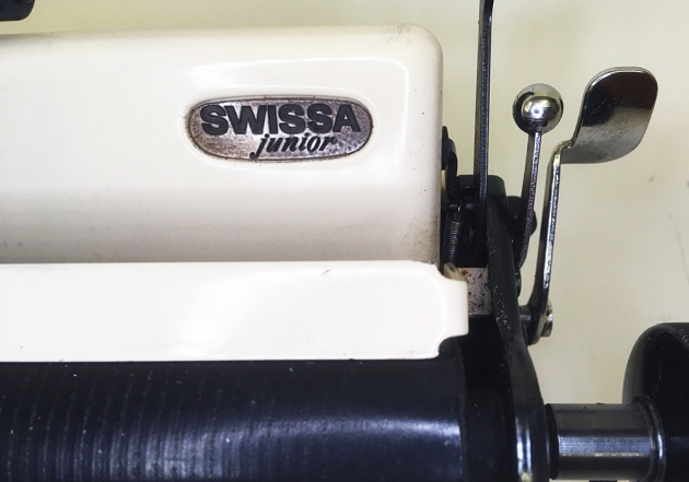 "Swissa ""Junior"" model logo on the top..."