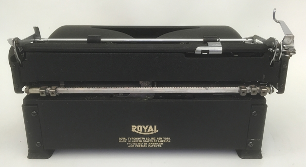 "Royal ""Quiet De Luxe"" from the back..."