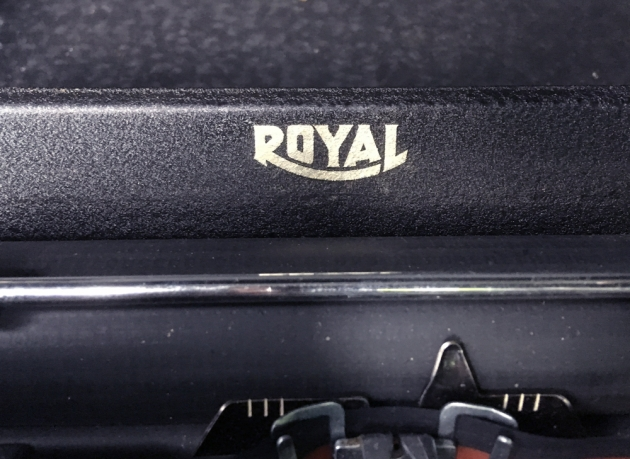 "Royal ""Mercury"" logo on the top..."