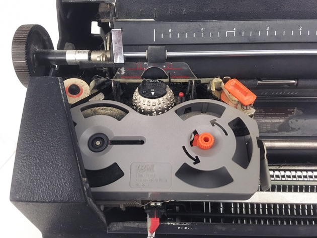 """IBM """"Selectric II""""  from under the hood..."""