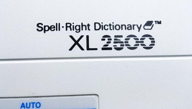 """Smith Corona """"XL 2500"""" from the model logo left,,,"""