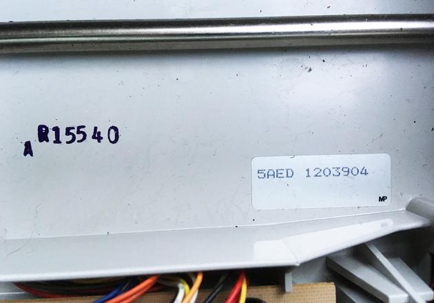 "Smith Corona ""XL 2500"" serial number location,,,"