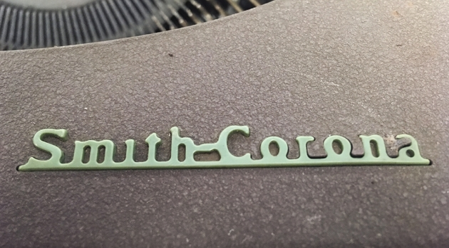 """Smith Corona """"Skyriter"""" from the logo on the top..."""