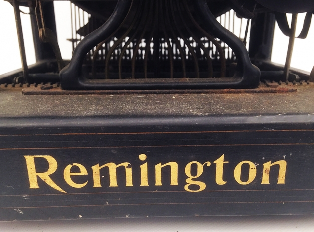 "Remington ""11"" from the back (logo detail)..."