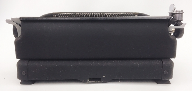 """Remington Rand """"Deluxe 5""""  from the back..."""