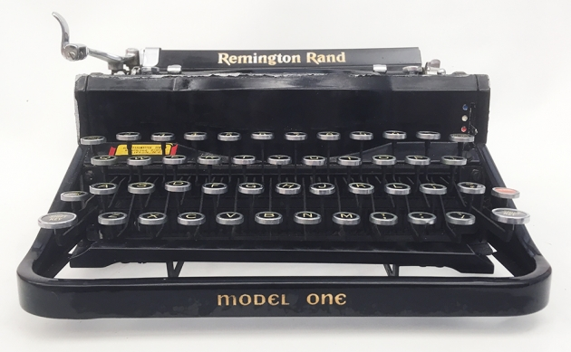 "Remington ""Model 1"" from the front..."