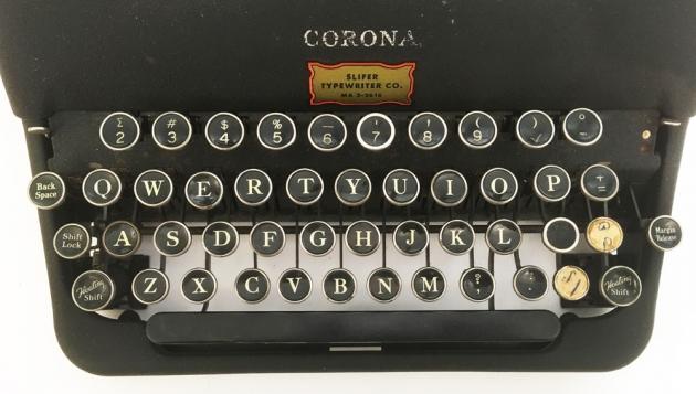 "Corona ""Standard"" from the keyboard..."