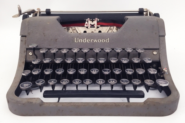 """Underwood """"Student""""from the front..."""