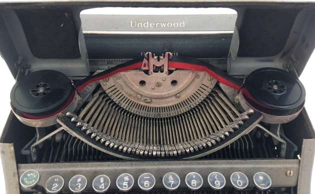 """Underwood """"Student""""from under the hood..."""