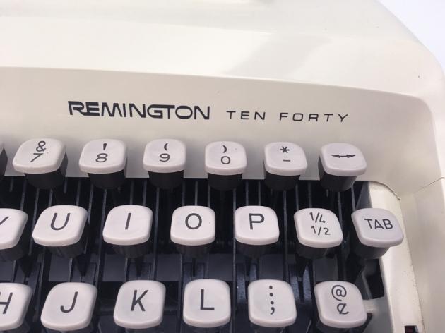 "Remington ""Ten-Forty"" make, and model, logos..."