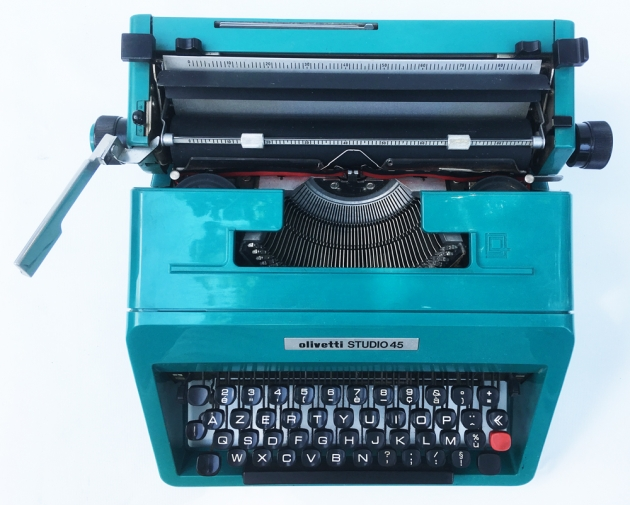 "Olivetti ""Studio 45"" from the top..."