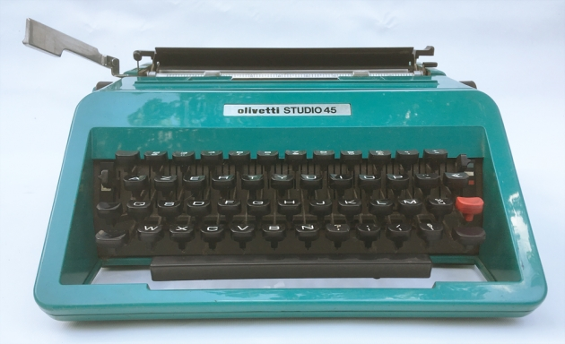 "Olivetti ""Studio 45"" from the front..."