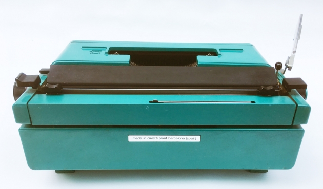 "Olivetti ""Studio 45"" from the back..."