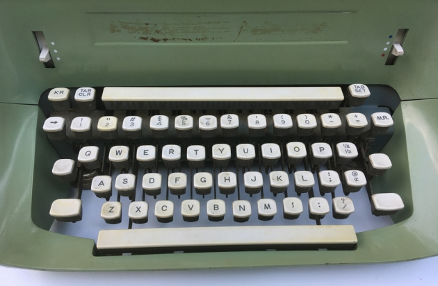 """Remington """"Model 24"""" from the keyboard..."""