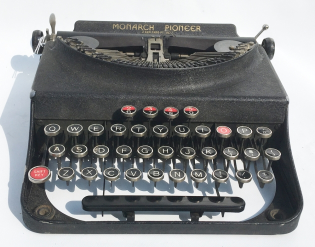 """Monarch (Remington) """"Pioneer"""" from the front..."""