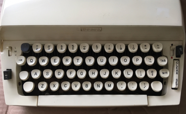 """Sears """"Citation"""" from the keyboard..."""