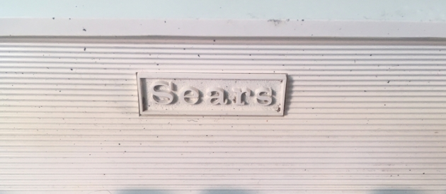 """Sears """"Citation"""" from the front (logo detail)..."""