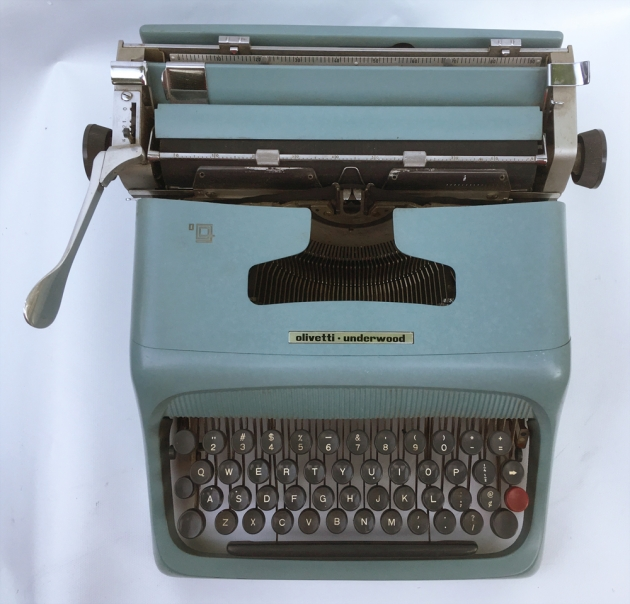 "Olivetti-Underwood ""Studio 44""  from the top..."