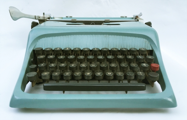 "Olivetti-Underwood ""Studio 44""  from the front..."