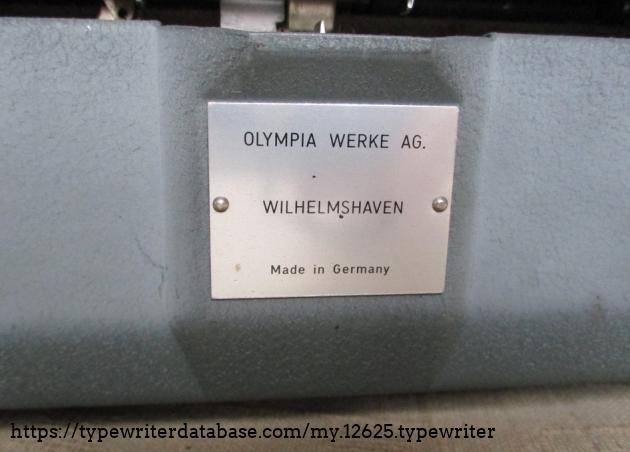 A Wilhelmshaven machine