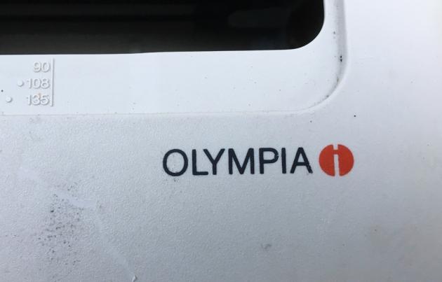 """Olympia """"Carrera de Luxe"""" Brand name logo..."""
